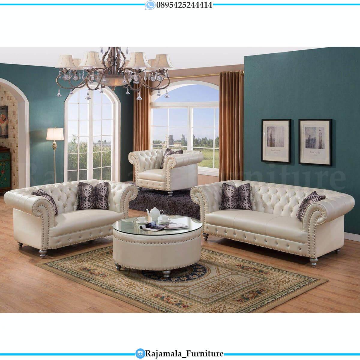 Sofa Tamu Mewah Minimalis Luxury Furniture Jepara Asli RM-0605