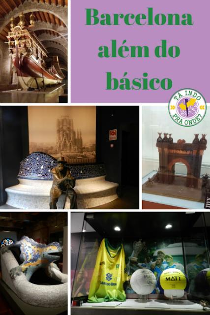 Museus em Barcelona além do básico