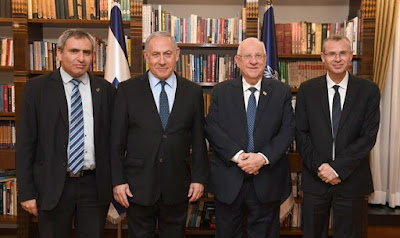 Netanyahu, Elkin e Levin se reúnem com o presidente