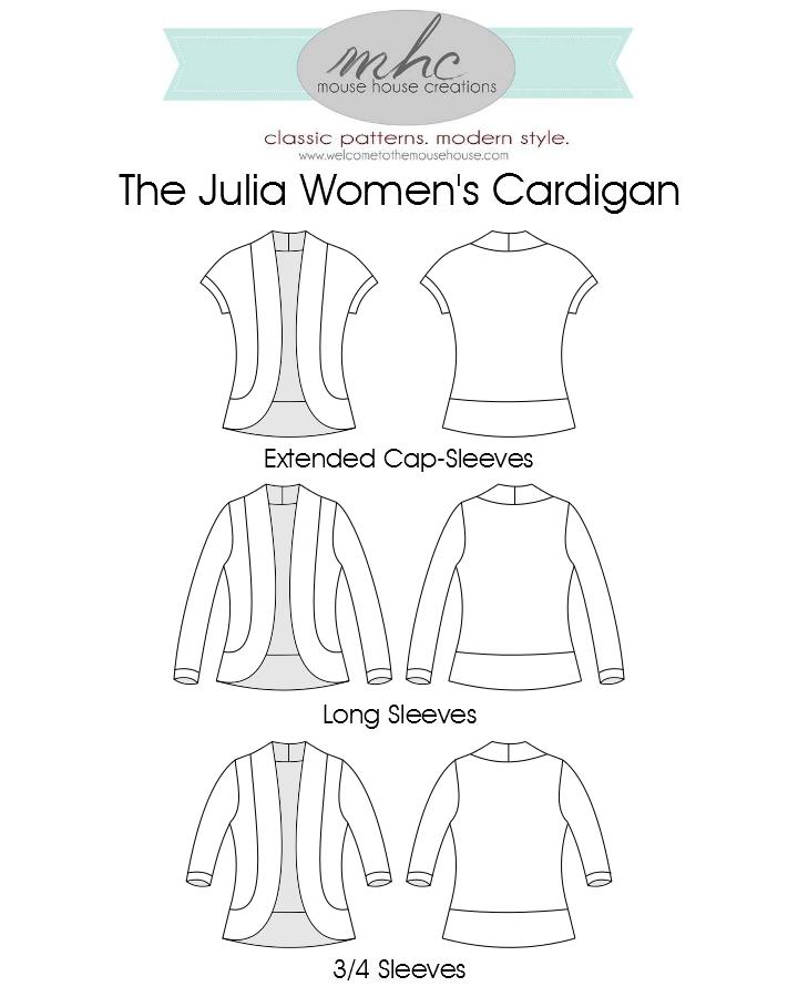 The Julia Women's Cardigan: It's Here