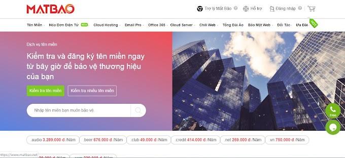 Hướng dẫn mua domain tên miền nhà cung cấp mắt bão