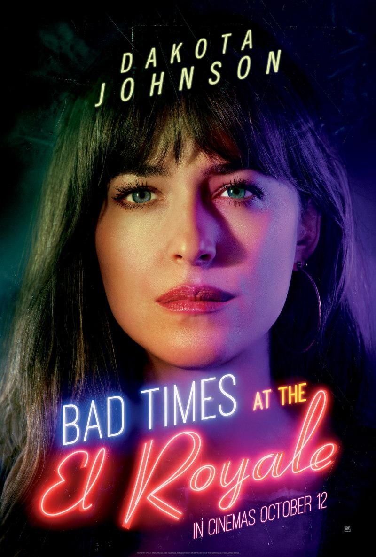 BAD TIMES AT THE EL ROYALE poster dakota johnson