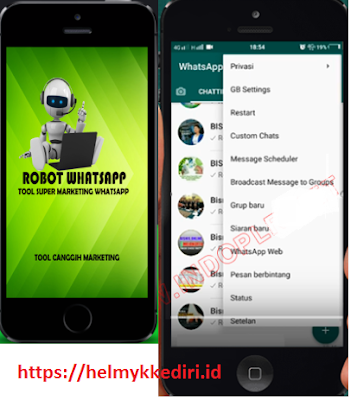 GBWhatsapp robot marketing