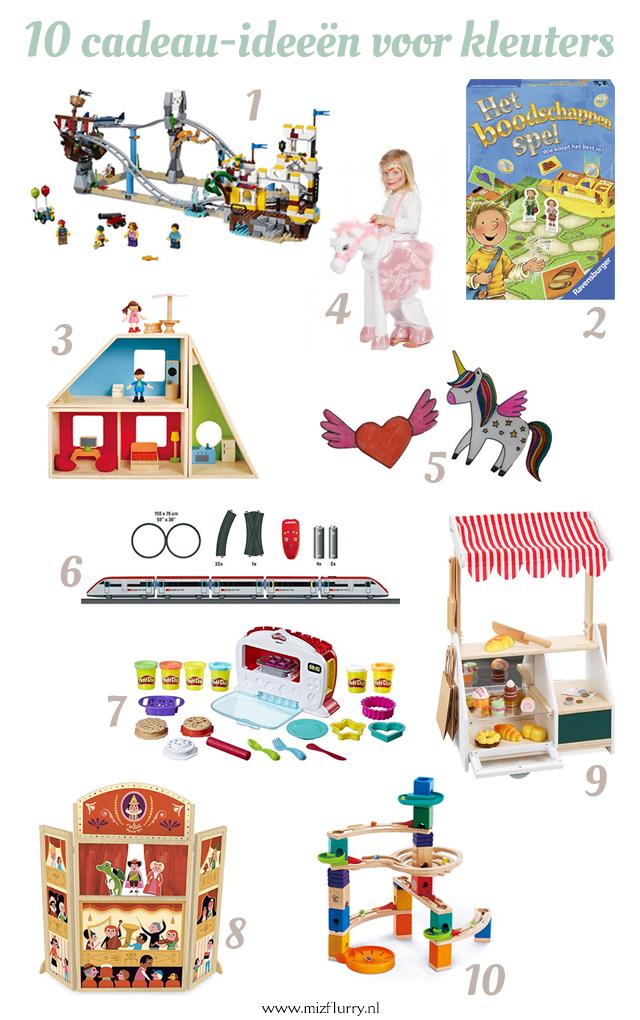 10 cadeau ideeen kleuters