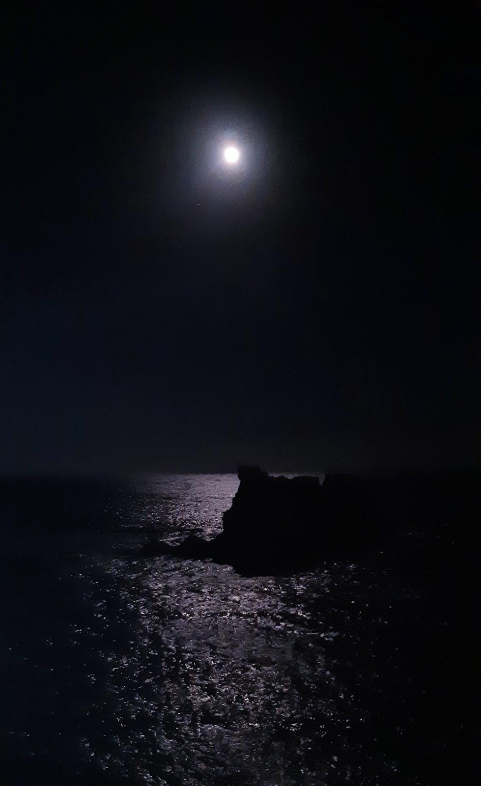 Osteriadelpistacchio La Luna Piena Sul Mare