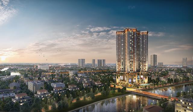 Phối cảnh dự án Samsora Premier 105 Chu Văn An
