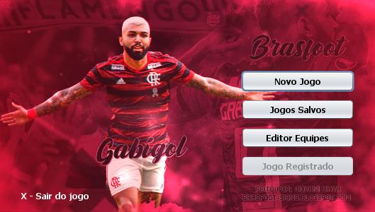 Skin Brasfoot 2019 - Gabigol - Flamengo