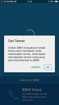Membuat Akun BBM di Android 3