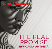 Logo Diventa tester ''The Real Promise'' trattamento anti età