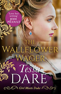 Book Review: The Wallflower Wager, by Tessa Dare, 5 stars