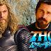 """Christian Bale chega à Austrália para o início de produção de """"Thor: Amor e Trovão"""""""