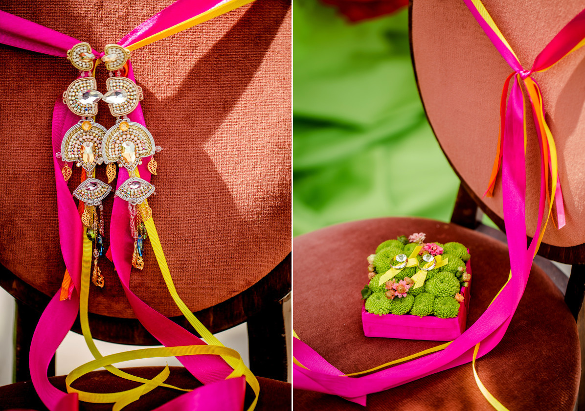 Biżuteria ślubna w stylu boho chic.