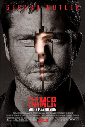 Gamer 2009 Dual Audio ORG Hindi 480p BluRay 300MB ESubs poster