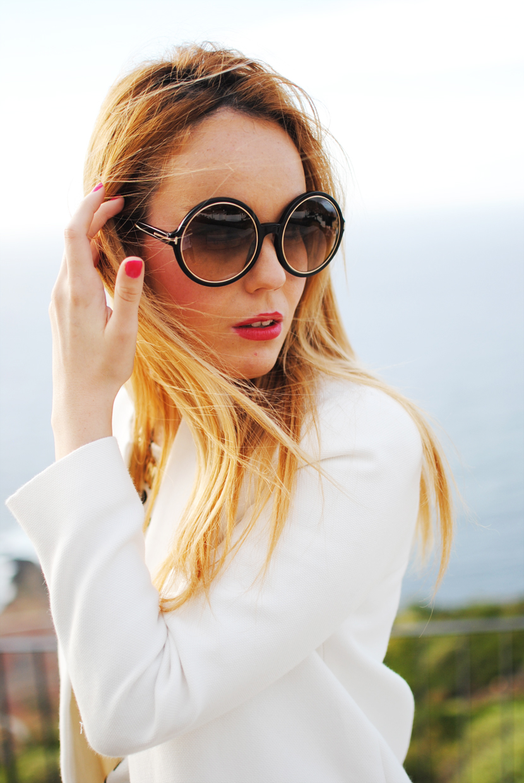 dots, nery hdez, nowistyle, boyfriend jeans, sunglasses