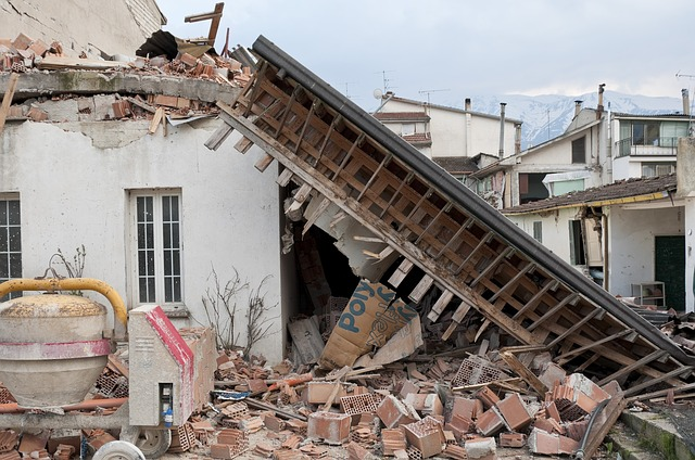 Forças destrutivas de um terremoto