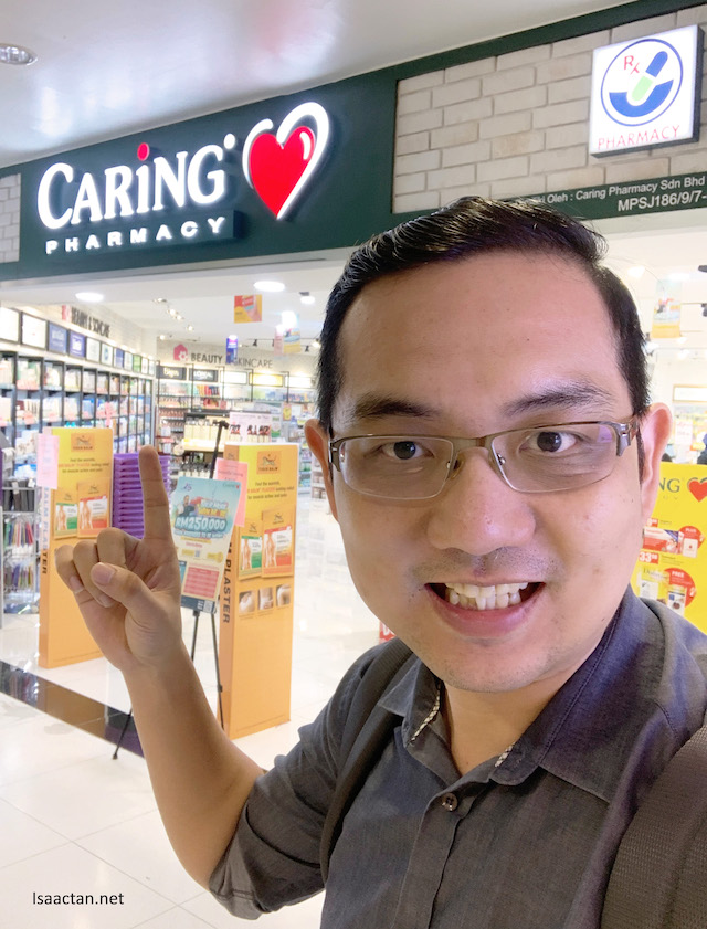 Caring Pharmacy's #SHOPMOREWINMORE Contest is ON!