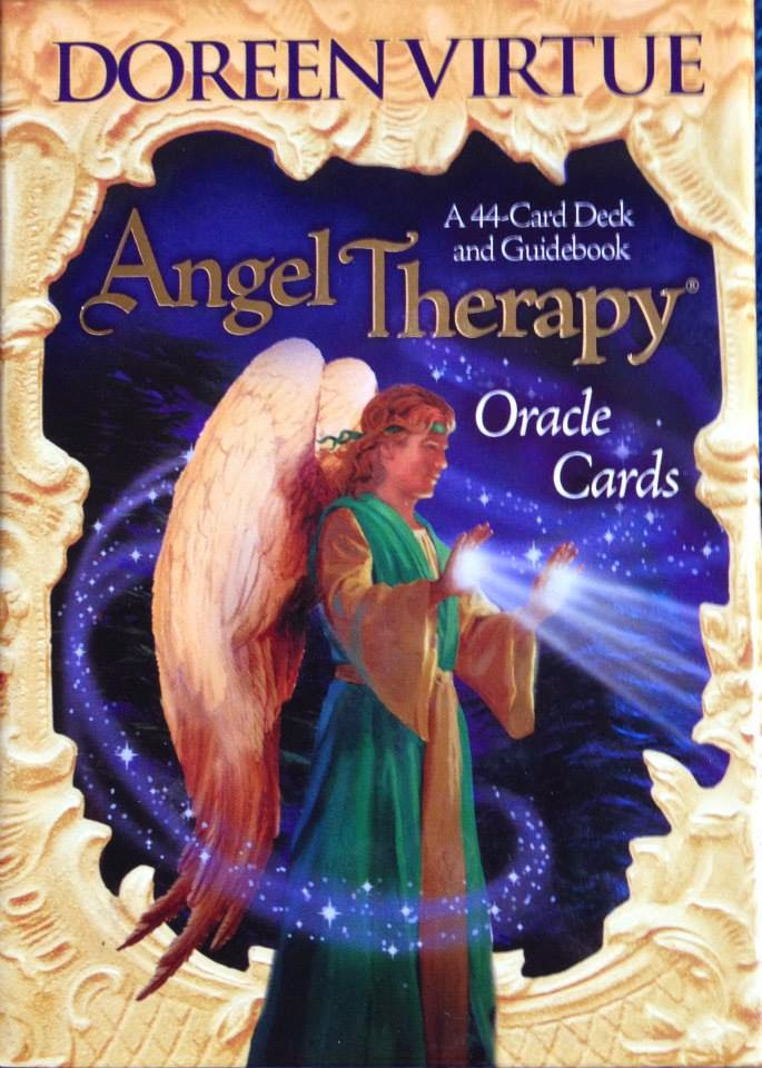 Angel Therapy Oracle Cards Doreen Virtue: Alan L Angel Card Reading L Law Of Attraction L Angel