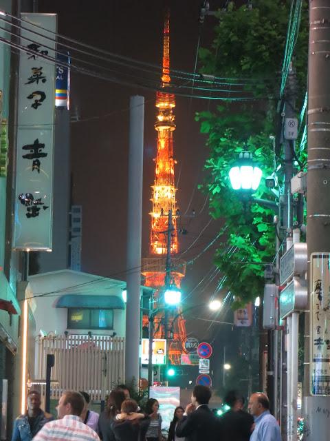 Tokyo Tower Roppongi night view. Tokyo Consult. TokyoConsult.