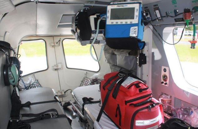 MBB-Kawasaki BK 117 interior