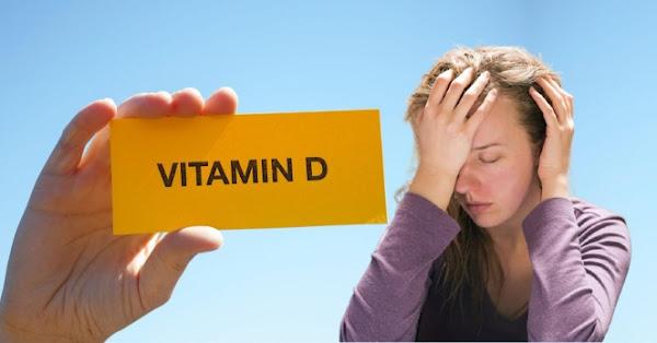 اعراض نقص فيتامين د النفسية والجسدية