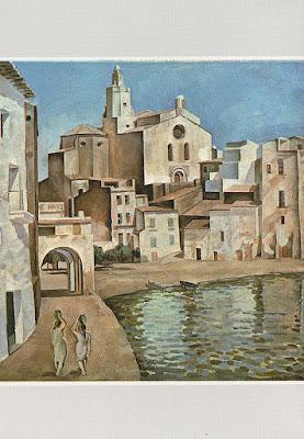 Postal, Port Alguer, Cadaqués, Dalí