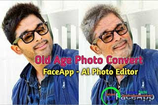 Old Age Photo Convert   FaceApp - Al Face Editor