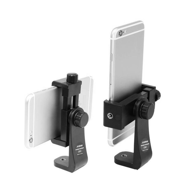 Andoer Andoer CB1 Plastic Smartphone Clip Holder Stand Support