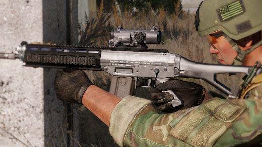Arma3にSSG 550シリーズを追加するMOD