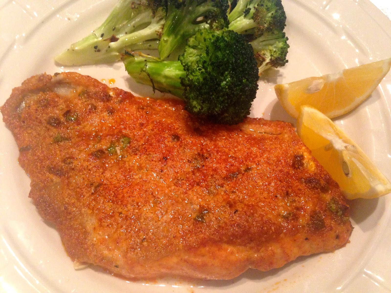 Rita 39 s recipes oven parmesan crusted fish for Parmesan crusted fish