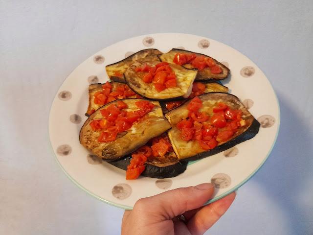 Ricetta melanzane al forno con pomodorini