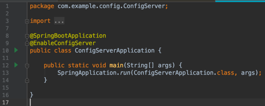 Spring Cloud @EnableConfigServer Example