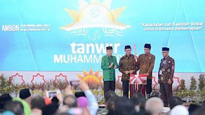 Di depan Presiden Jokowi, Muhammadiyah Sampaikan Berbagai Kritik Tajam soal Kondisi Bangsa