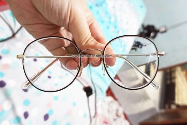 Pengalaman beli Kacamata Mocathromic online