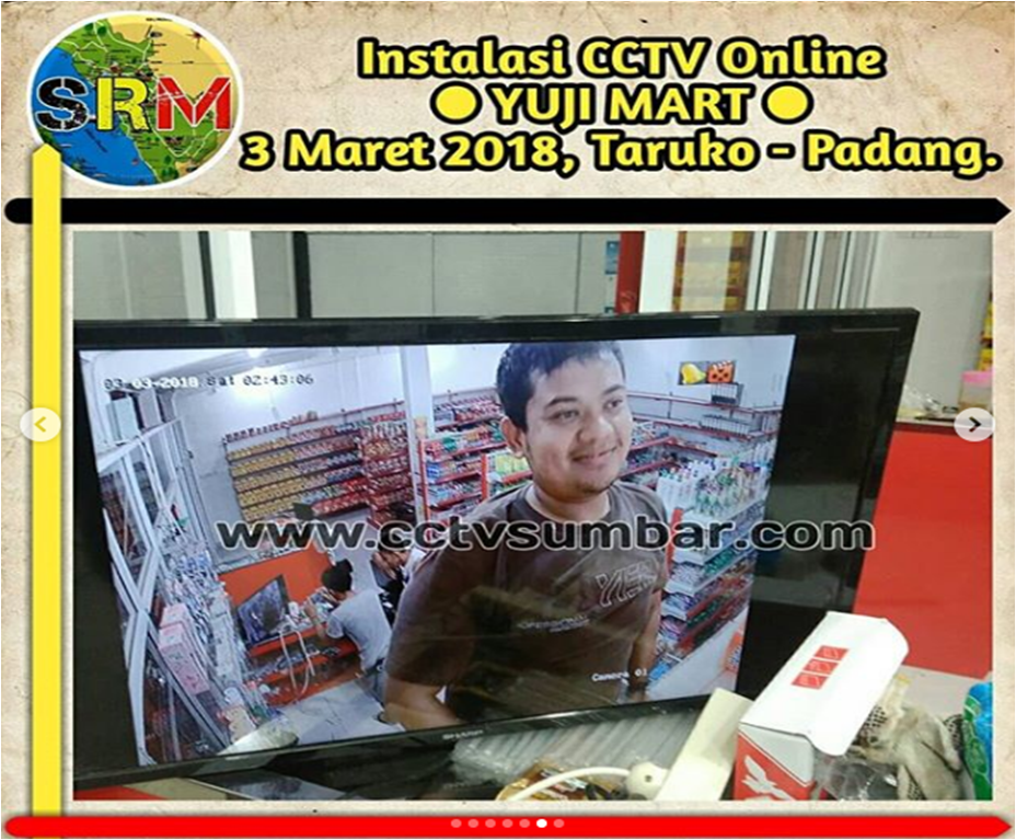 Pemasangan Pada YUJI MART di Taruko - Padang