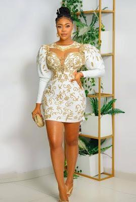 Birthday dress for ladies in Nigeria