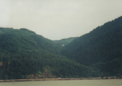 View from near Cook, Washington, on July 23, 1999