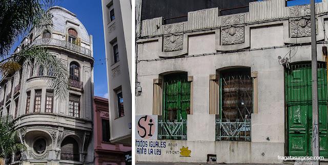 Montevidéu: Art Nouveu na Cidade Velha e art-déco no Barrio Sur
