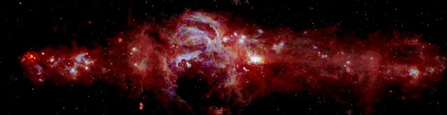 تلسكوب صوفيا يكشف عن رؤية جديدة لمركز درب التبانة