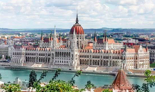 A Huge Building In Prague