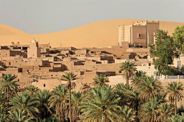 القصور الصحراوية  الأمازيغية جنوب الجزائر واد ميزاب