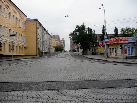 Донецк. Ул. Постышева. 2017 г.