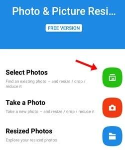 click select photo
