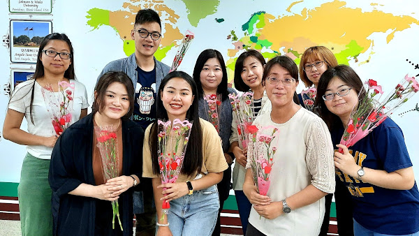母親節感恩月愛無國界 明道大學國際生向媽咪說愛