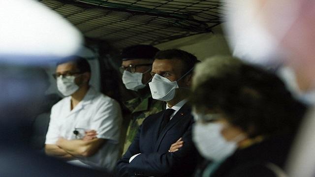 Εμανουέλ Μακρόν: Στρατιωτική επιχείρηση για την αντιμετώπιση του κορονοϊού