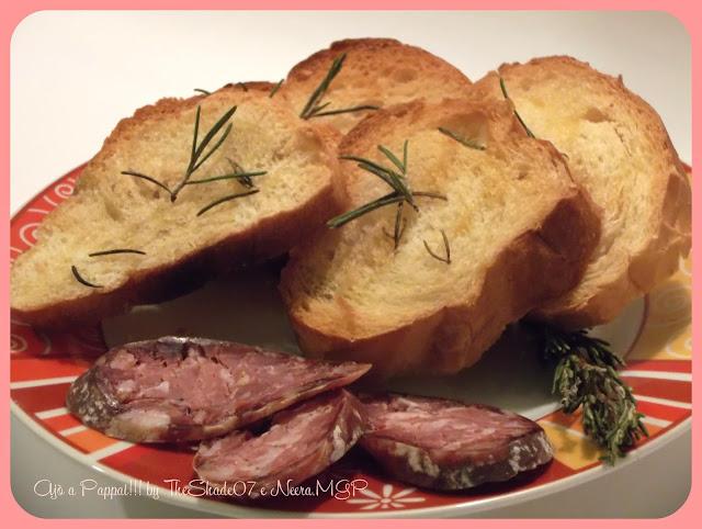 Fotografia della ricetta Crostini al rosmarino