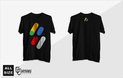 Kaos Google Adsense Indonesia (New Simple Desain)