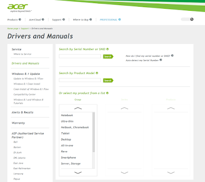 Driver Acer