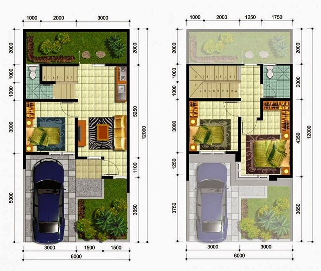 Denah Rumah Type 36 Dan Pengembangannya Design Renovasi Rumah Type