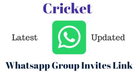 Join Cricket WhatsApp Group Links list - Whatsapp Group Link