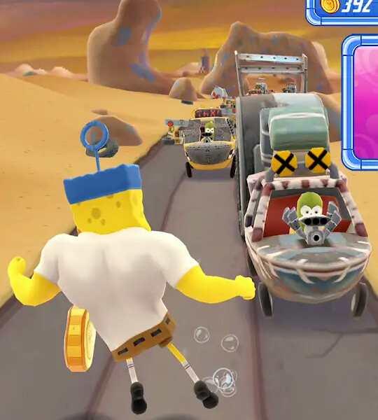 Game Spongebob : Sponge on the run